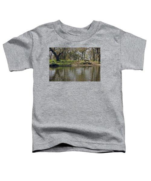 Rivington  Japanese Pool Bench. Toddler T-Shirt