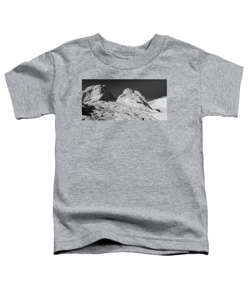 Rock Detail At White Pocket, Paria Toddler T-Shirt