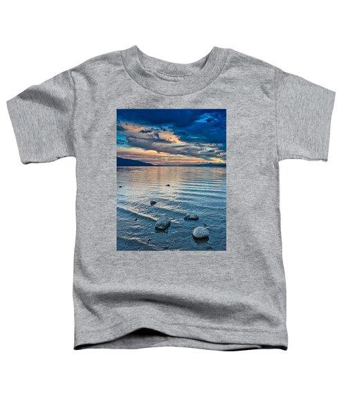 Rocky Lake Vista Toddler T-Shirt