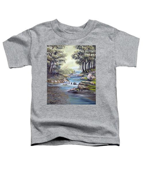 Rocky Stream Toddler T-Shirt