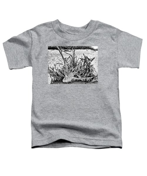 Rooted In Black And White Toddler T-Shirt