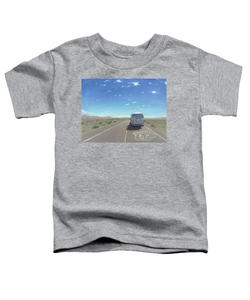 Route 66, Somewhere In California Toddler T-Shirt