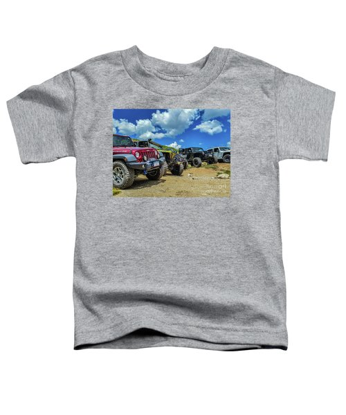 Row Of Jeeps Toddler T-Shirt