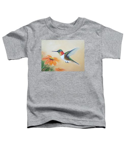 Rufous In Marigolds  Toddler T-Shirt