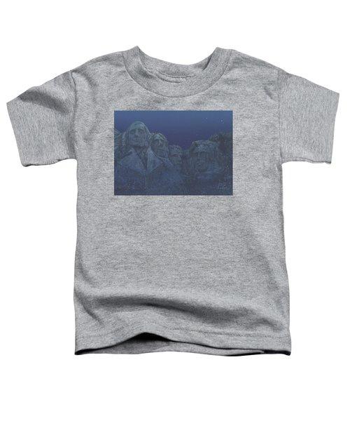 Rushmore Airbrush Toddler T-Shirt