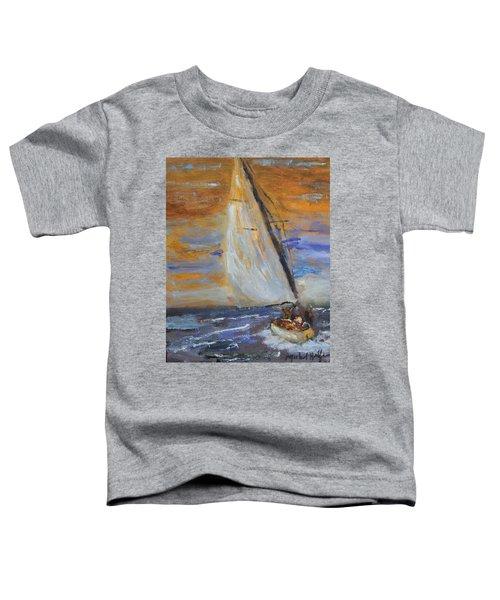 Sailng Nto The Sun Toddler T-Shirt