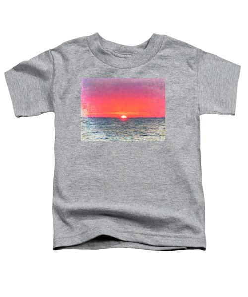 Salty Sunrise Toddler T-Shirt