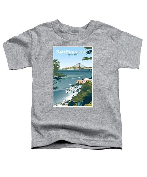 San Francisco Lands End Toddler T-Shirt