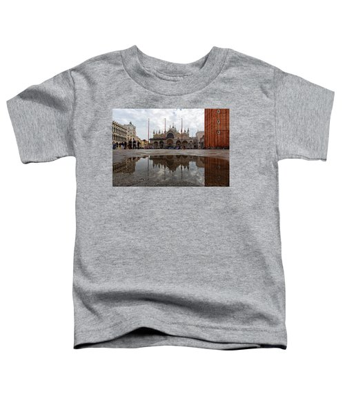 San Marco Cathedral Venice Italy Toddler T-Shirt