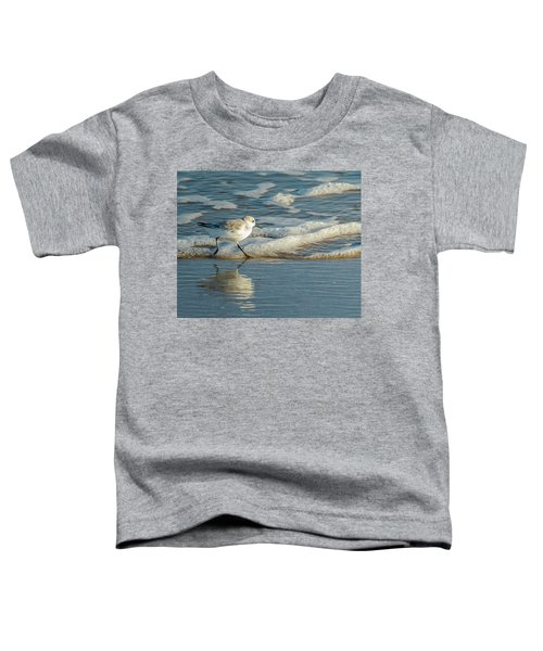 Sanderling At Assateague Island National Seashore Toddler T-Shirt