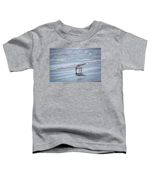 Sanderling Foraging Toddler T-Shirt