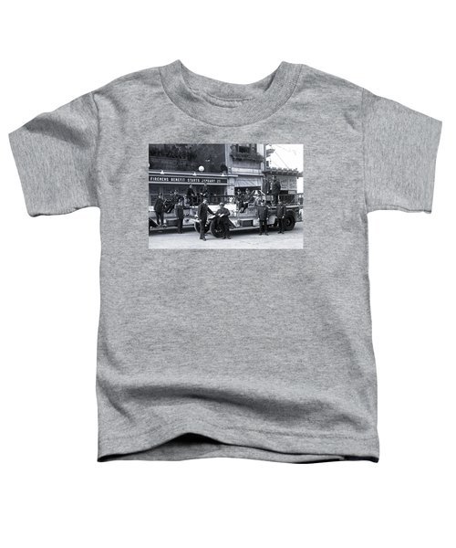Santa Monica Firemen 1920 Toddler T-Shirt