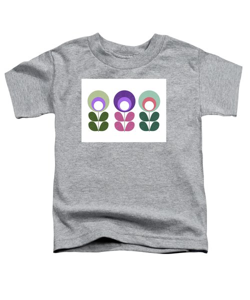 Scandinavian Flowers II Toddler T-Shirt