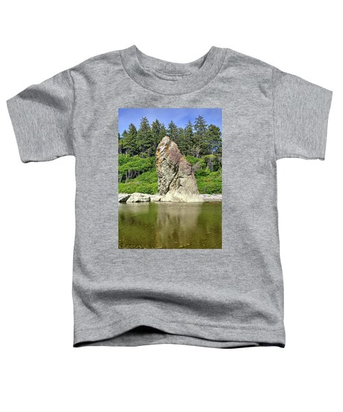 Sea Stack At Ruby Beach  Toddler T-Shirt