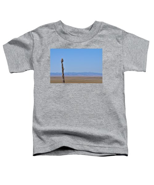 Toddler T-Shirt featuring the photograph Sentinel by Carl Young