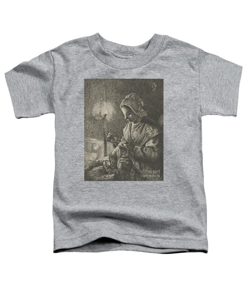Sewing By Lamplight Toddler T-Shirt