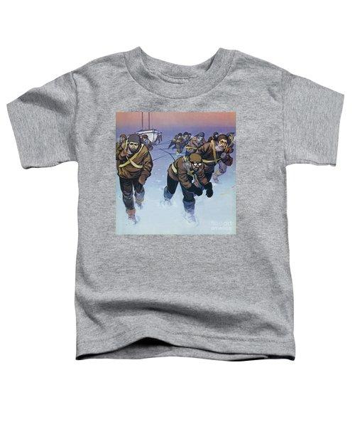 Shackleton In The Antarctic  Toddler T-Shirt