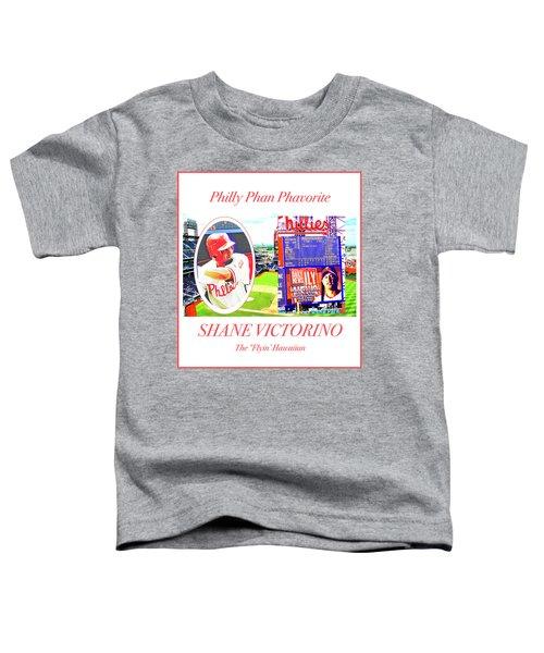 Shane Victorino, Philly Phan Phavorite Toddler T-Shirt