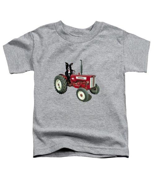 Sheepdog Tractor  Toddler T-Shirt