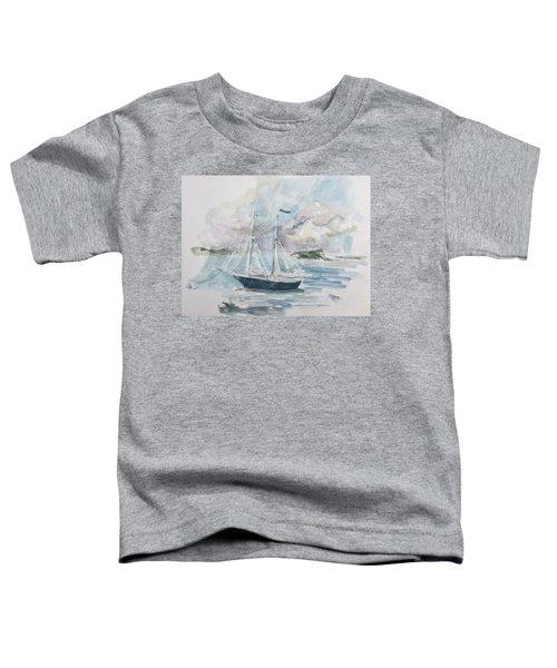 Ship Sketch Toddler T-Shirt