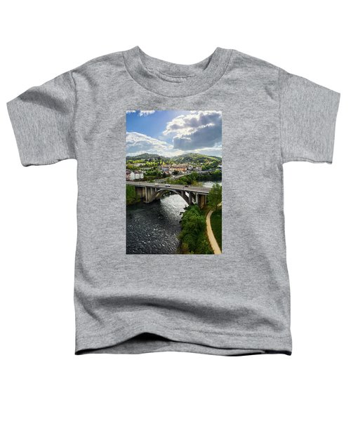 Sights From The Millennium Bridge Toddler T-Shirt