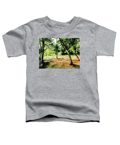 Silence Of Forest Toddler T-Shirt
