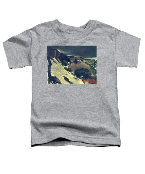 Snowmelt In L Estaque 1870 Toddler T-Shirt