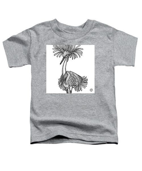 Snowy Egret Toddler T-Shirt