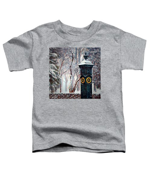 Snowy Keeneland Toddler T-Shirt