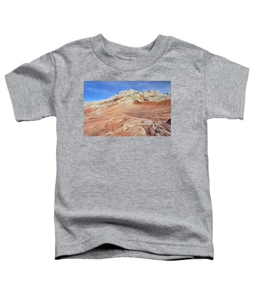 Solid Waves Pano Toddler T-Shirt