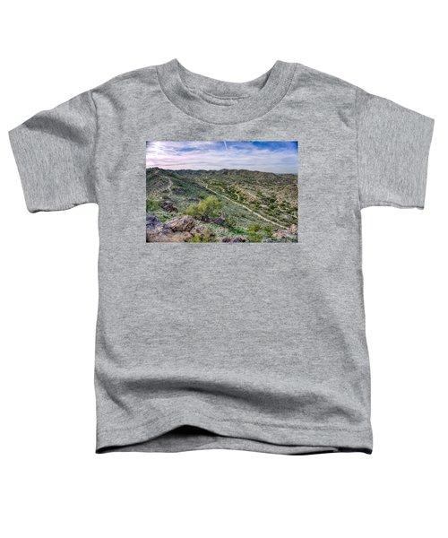 South Mountain Landscape Toddler T-Shirt