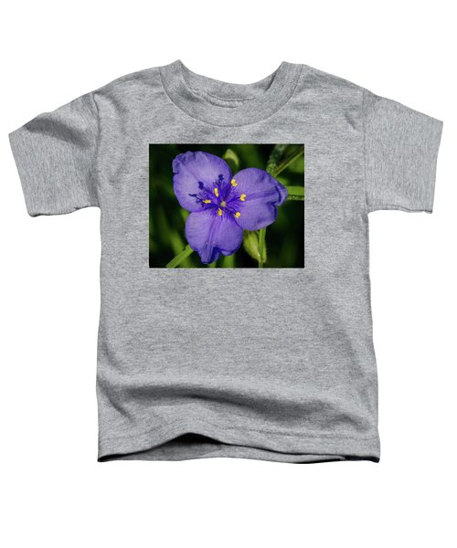 Spiderwort Flower Toddler T-Shirt