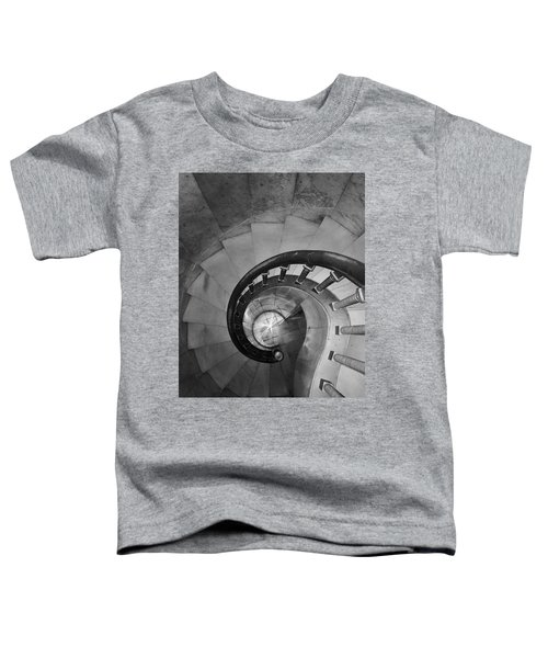 Spiral Staircase, Lakewood  Cemetary Chapel Toddler T-Shirt