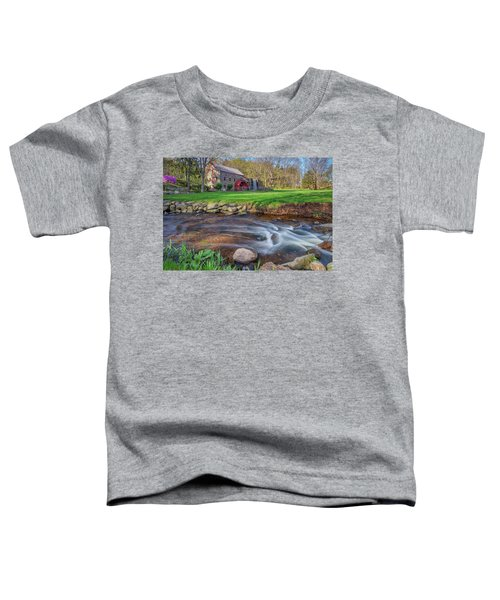 Springtime At The Grist Mill Toddler T-Shirt