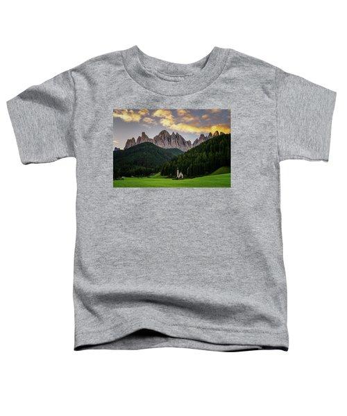 St Johann Sunrise Toddler T-Shirt