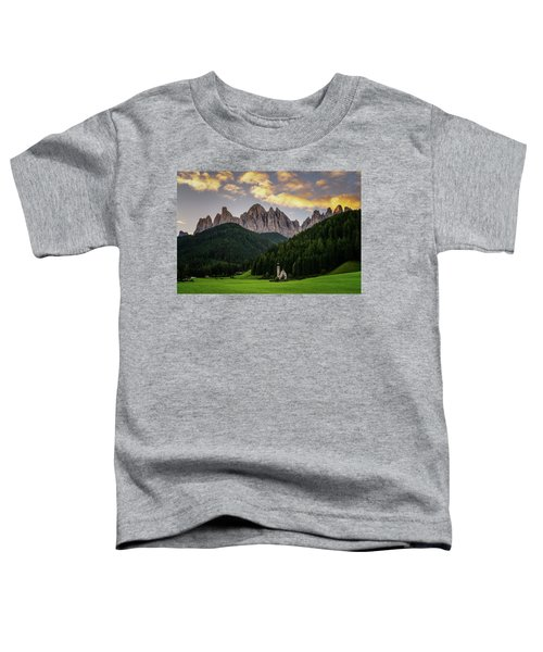 St Johann Sunrise Toddler T-Shirt