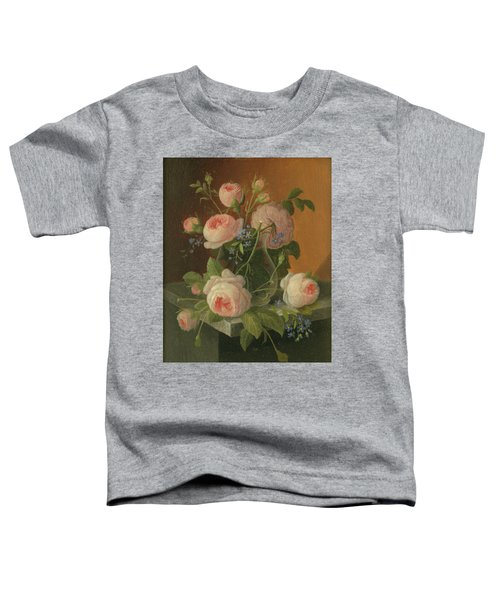 Still Life With Roses, Circa 1860 Toddler T-Shirt