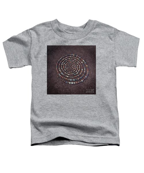 Stone Spriral Toddler T-Shirt