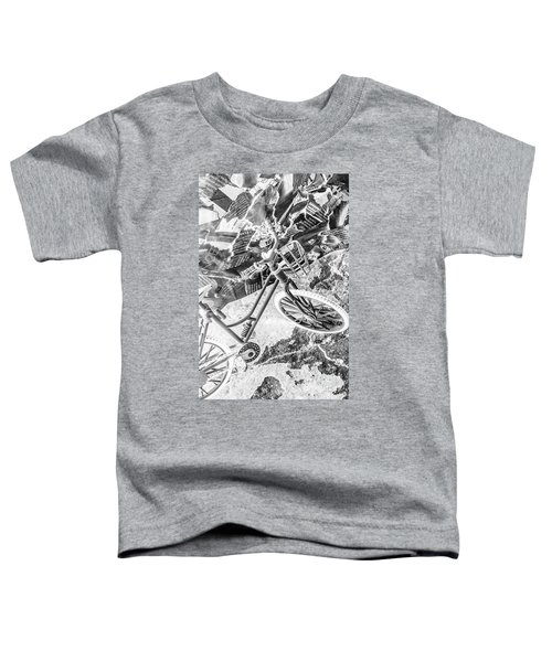 Street Cycles Toddler T-Shirt