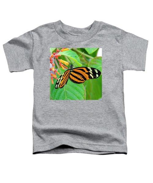 Striking In Orange And Black Toddler T-Shirt