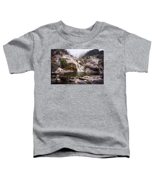 Suchurum Waterfall, Karlovo, Bulgaria Toddler T-Shirt