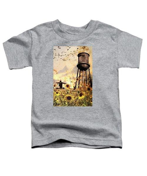 Sunflowers At Dusk Toddler T-Shirt