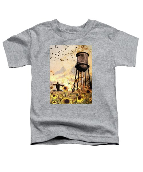 Sunflowers At Dusk Toddler T-Shirt