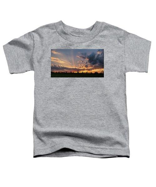 Sunrays At Sunset Toddler T-Shirt