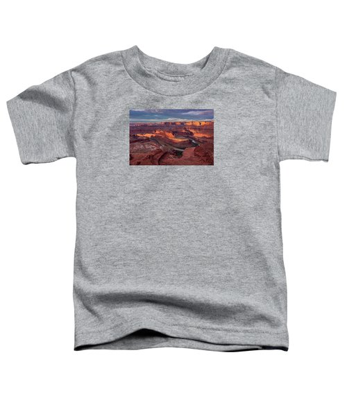 Sunrise At Dead Horse Point State Park Toddler T-Shirt