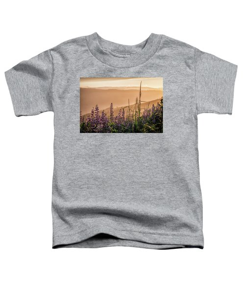 Sunset Among The Lupine Toddler T-Shirt