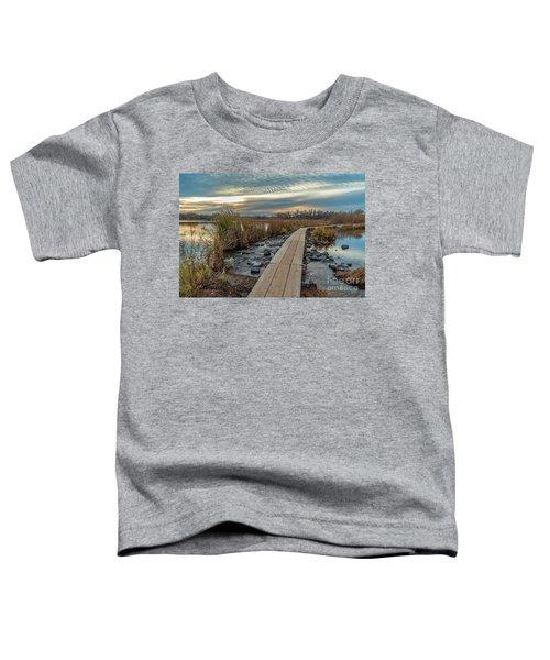 Sunset At Purgatory Creek Toddler T-Shirt