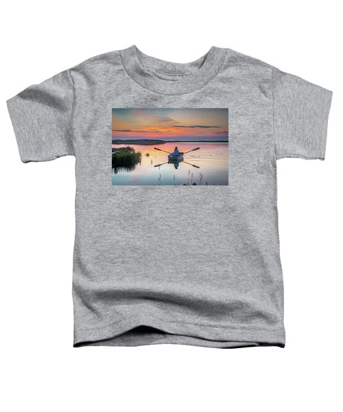 Sunset  Crossing Toddler T-Shirt