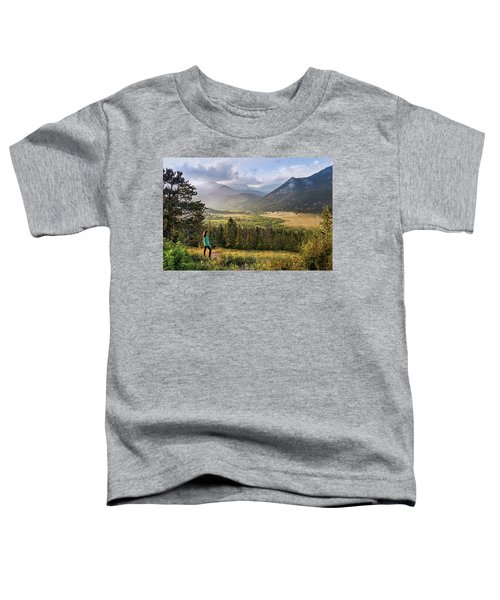 Sunset In The Rockies Toddler T-Shirt