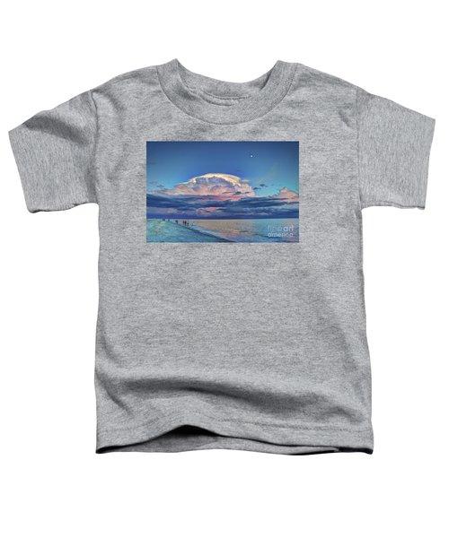 Sunset Over Sanibel Island Toddler T-Shirt